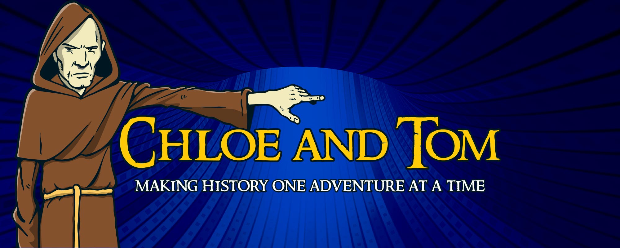 Chloe and Tom - Making history one adventure at a time